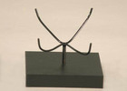 Spider Mount bent for oil lamp